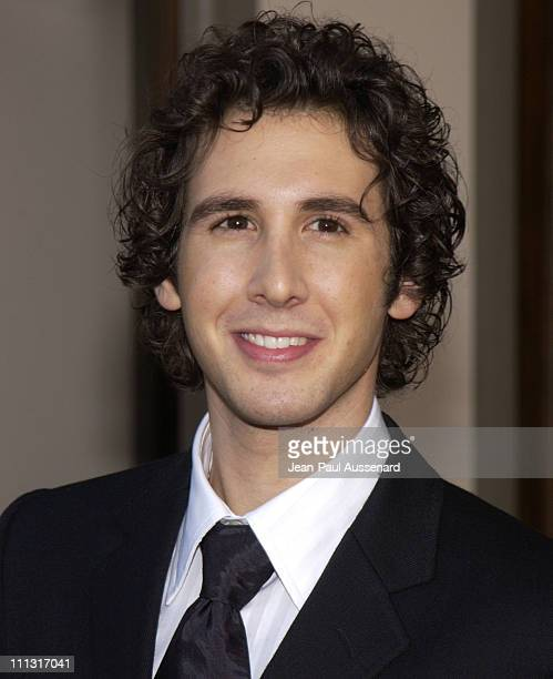 Josh Groban during The 29th Annual People's Choice Awards Arrivals at Pasadena Civic Auditorium in Pasadena California United States