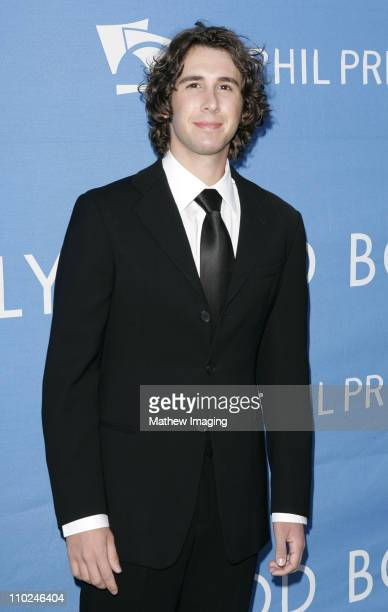 Josh Groban during The Hollywood Bowl Celebrates Stephen Sondheim's 75th Birthday Arrivals at Hollywood Bowl in Hollywood California United States
