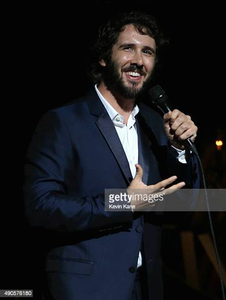 Josh Groban performs at the Beacon Theatre on September 29 2015 in New York City