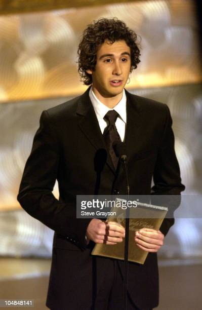 Josh Groban presents the award for Favorite Female Musical Performer at the 29th Annual People's Choice Awards