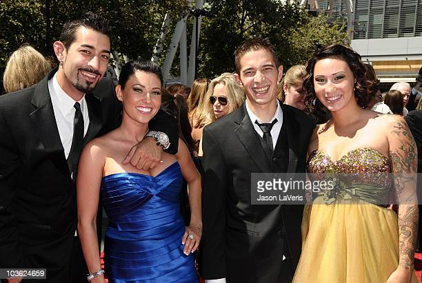 Josh Harris Jake Harris and guests attend the 2010 Creative Arts Emmy Awards at Nokia Plaza LA LIVE on August 21 2010 in Los Angeles California