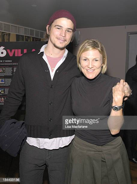 Josh Hartnett and Susan Hewitt **Exclusive Coverage**