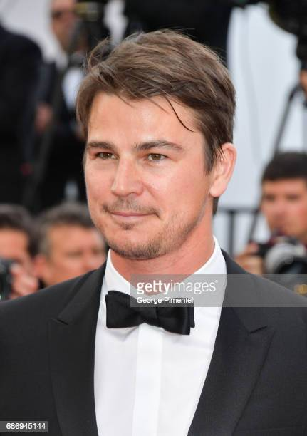 Josh Hartnett attends 'The Killing Of A Sacred Deer' screening during the 70th annual Cannes Film Festival at Palais des Festivals on May 22 2017 in...