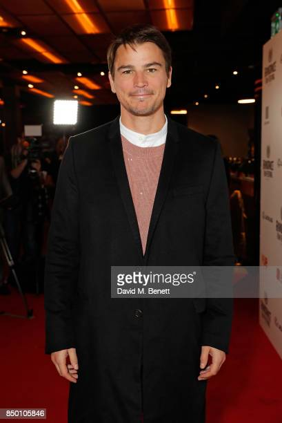 Josh Hartnett attends the Raindance Film Festival Opening Gala screening of 'Oh Lucy' at Vue Leicester Square on September 20 2017 in London England