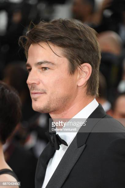 Josh Hartnett attends the 'The Killing Of A Sacred Deer' screening during the 70th annual Cannes Film Festival at Palais des Festivals on May 22 2017...