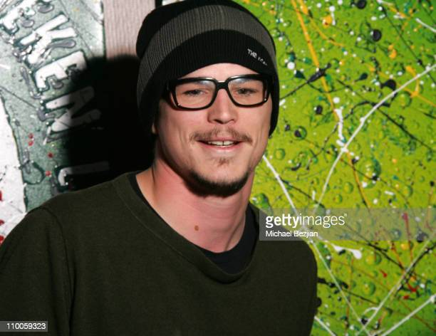 Josh Hartnett during 2007 Park City Karaoke at the Heineken Green Room at Heiniken Green Room in Park City Utah United States