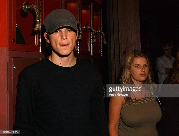 Josh Hartnett with Charlene Lee during CineVegas Film Festival 2003 George Maloof Hosts Filmmaker Party at Little Buddha Restaurant at the Palms in...