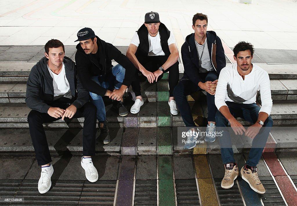 Australian Fast Bowlers Portrait Session