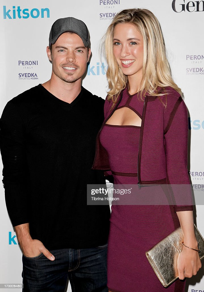 <a gi-track='captionPersonalityLinkClicked' href=/galleries/search?phrase=Josh+Henderson+-+Actor&family=editorial&specificpeople=635918 ng-click='$event.stopPropagation()'>Josh Henderson</a> and Melissa Bolona attend the Gents at Kitson launch event at Kitson on Roberston on July 11, 2013 in Beverly Hills, California.