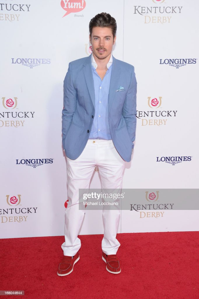 Josh Henderson attends the 139th Kentucky Derby at Churchill Downs on May 4, 2013 in Louisville, Kentucky.