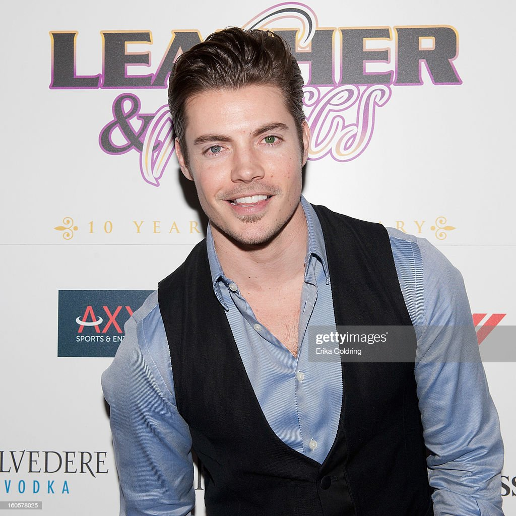 <a gi-track='captionPersonalityLinkClicked' href=/galleries/search?phrase=Josh+Henderson+-+Actor&family=editorial&specificpeople=635918 ng-click='$event.stopPropagation()'>Josh Henderson</a> attends the Tenth Annual Leather & Laces Super Bowl Party on February 2, 2013 in New Orleans, Louisiana.