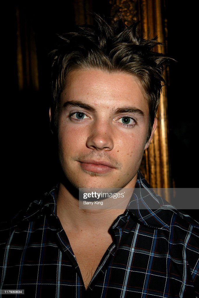 <a gi-track='captionPersonalityLinkClicked' href=/galleries/search?phrase=Josh+Henderson+-+Actor&family=editorial&specificpeople=635918 ng-click='$event.stopPropagation()'>Josh Henderson</a> during Hollywood Knights Basketball Team Wrap Party - Inside at The Highlands in Hollywood, California, United States.