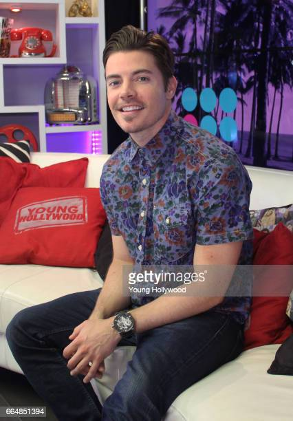 Josh Henderson visits the Young Hollywood Studio on April 4 2017 in Los Angeles California