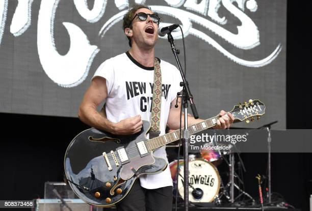 Josh Hogan of The Mowgli's performs during the ID10T Festival at Shoreline Amphitheatre on June 24 2017 in Mountain View California