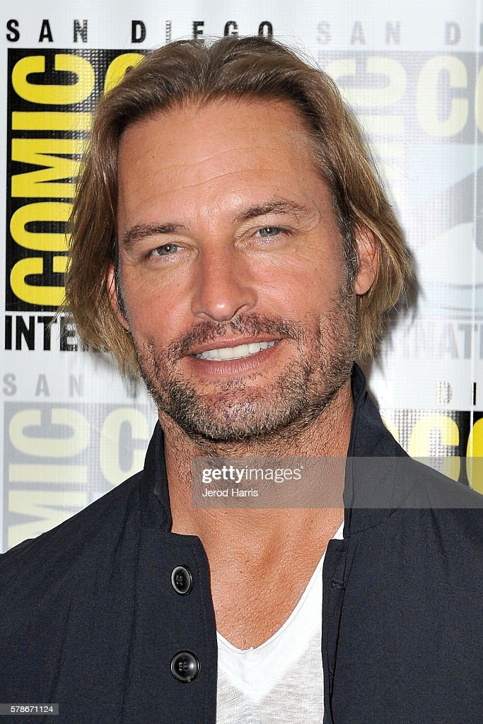 Josh Holloway attends the press line for 'Colony' at Comic Con on July 21, 2016 in San Diego, California.