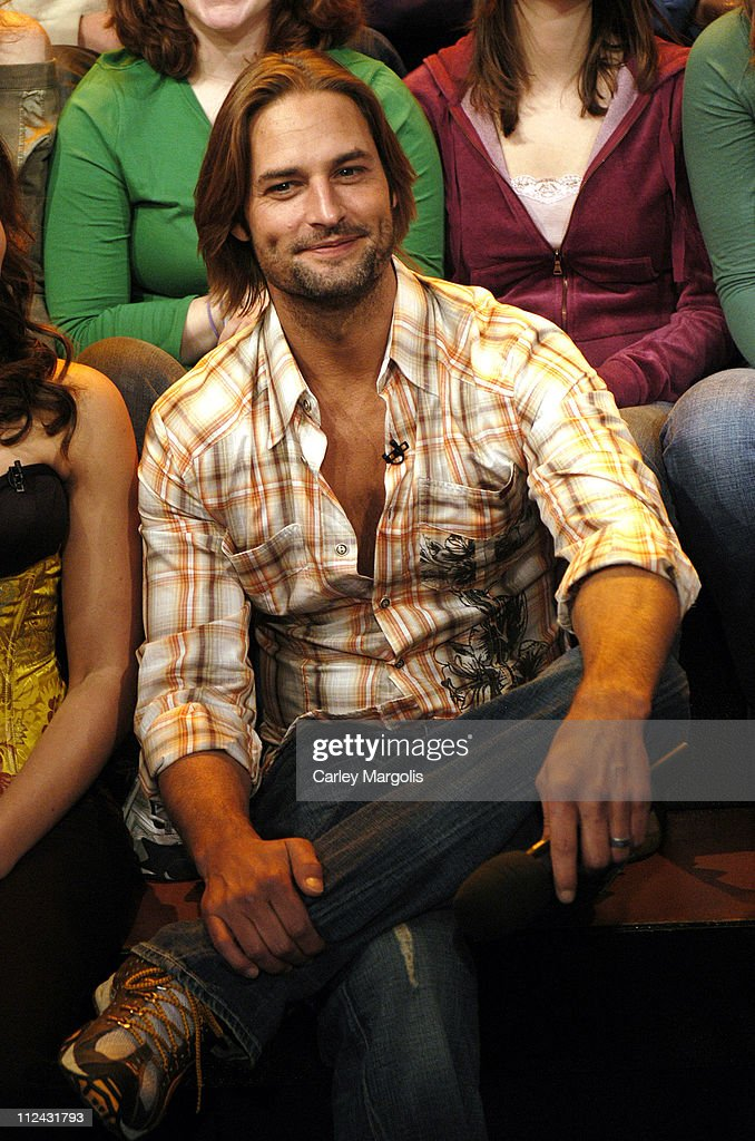 "Josh Holloway Visits MTV's ""TRL"" - February 8, 2006"