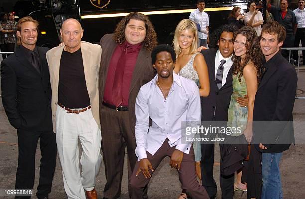 Josh Holloway Terry O'Quinn Jorge Garcia Harold Perrineau Maggie Grace Naveen Andrews Evangeline Lilly and Ian Somerhalder