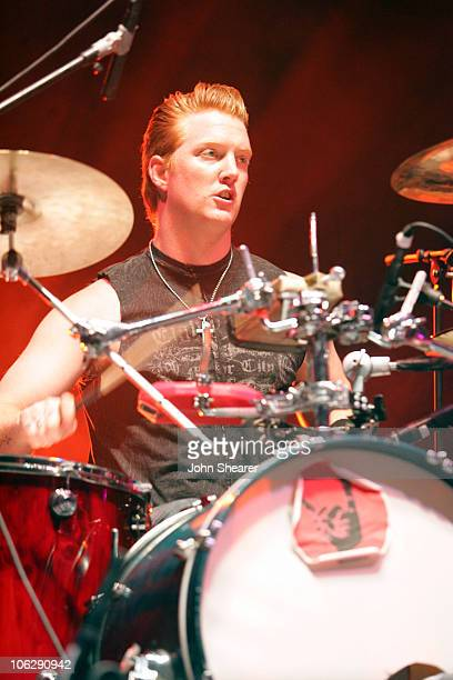 Josh Homme of Eagles Of Death Metal during 2006 Coachella Valley Music and Arts Festival Day One at Empire Polo Fields in Indio California United...