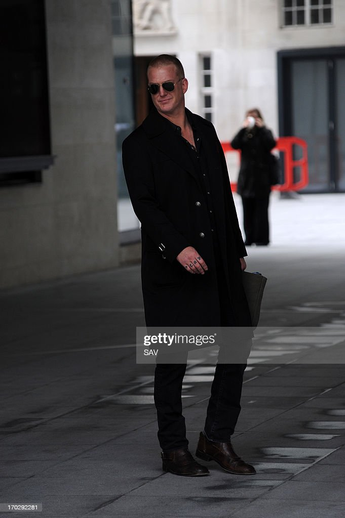 <a gi-track='captionPersonalityLinkClicked' href=/galleries/search?phrase=Josh+Homme&family=editorial&specificpeople=211243 ng-click='$event.stopPropagation()'>Josh Homme</a> pictured at the BBC Radio studios on June 10, 2013 in London, England.