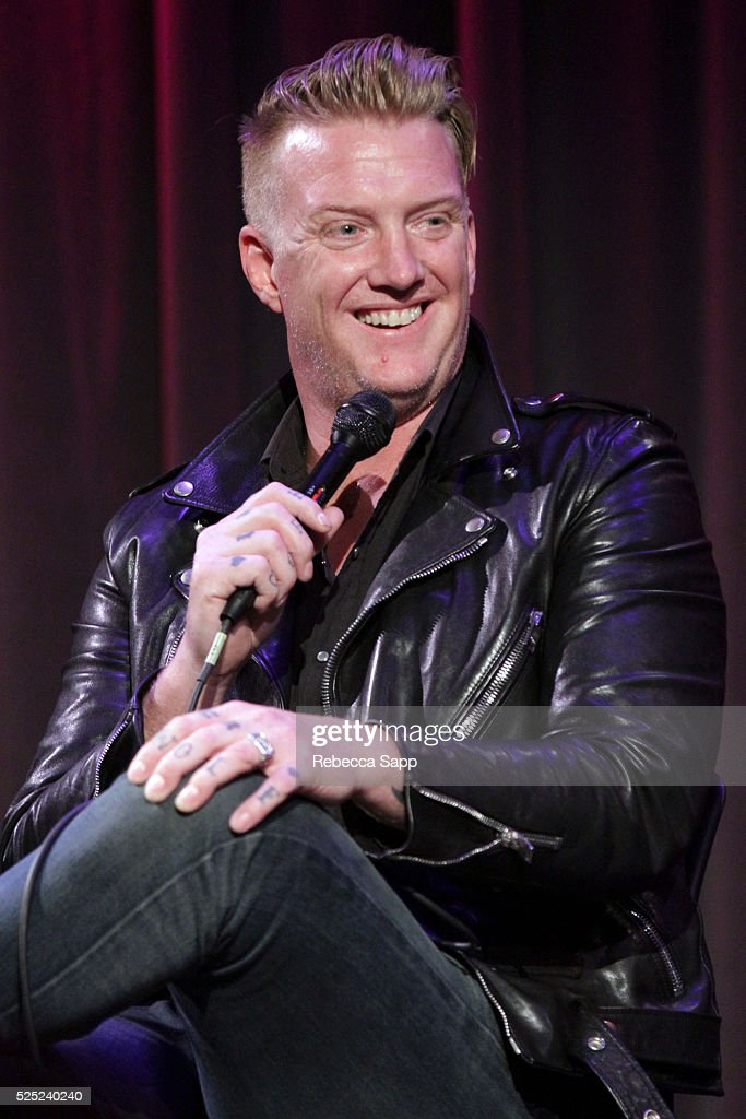 Josh Homme speaks onstage at A Conversation With Iggy Pop And Josh Homme at The GRAMMY Museum on April 27, 2016 in Los Angeles, California.