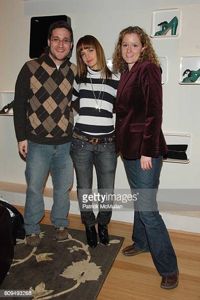 Josh Horowitz Mena Suvari and Jenny Powers attend Mena Suvari 'kicks' off NY Fashion Week at Te Casan in support of the Natural Resources Defense...