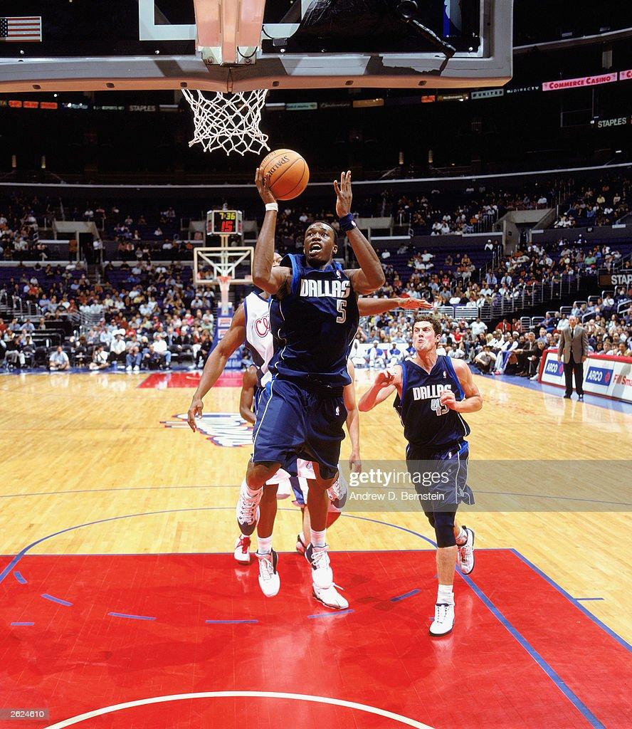 Dallas Mavericks v L A Clippers s and