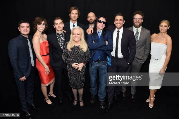 Josh Hutcherson Alison Brie Dave Franco Greg Sestero Jacki Weaver Paul Scheer Tommy Wisseau James Franco Seth Rogen and Ari Graynor attend the...