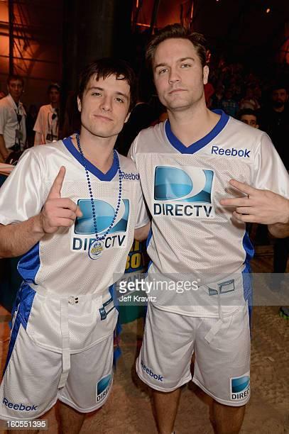 ¿Cuánto mide Josh Hutcherson? - Real height Josh-hutcherson-and-scott-porter-attend-directvs-7th-annual-celebrity-picture-id160551395?s=612x612