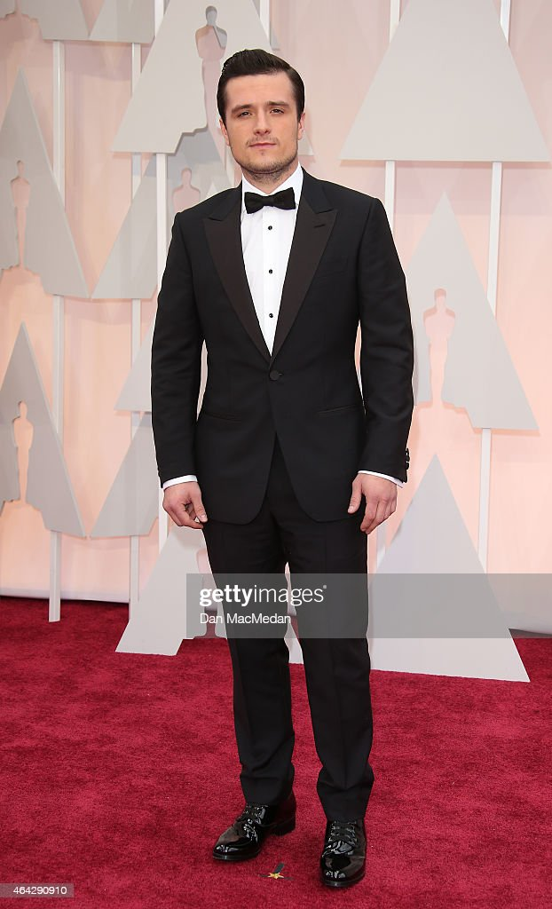 Josh Hutcherson arrives at the 87th Annual Academy Awards at Hollywood Highland Center on February 22 2015 in Los Angeles California