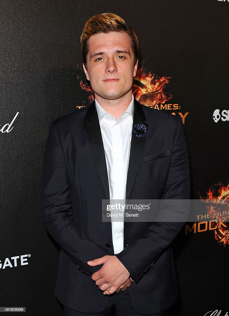 Josh Hutcherson attends Lionsgate's 'The Hunger Games: Mockingjay Part 1' party at a private villa on May 17, 2014 in Cannes, France.