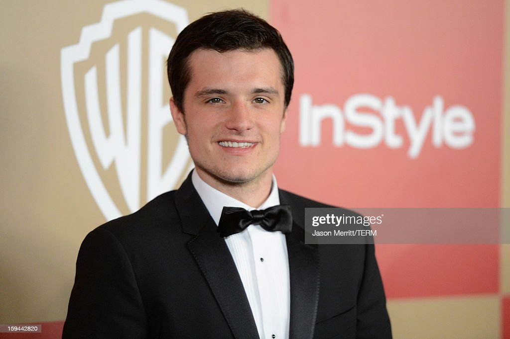 Josh Hutcherson attends the 14th Annual Warner Bros. And InStyle Golden Globe Awards After Party held at the Oasis Courtyard at the Beverly Hilton Hotel on January 13, 2013 in Beverly Hills, California.