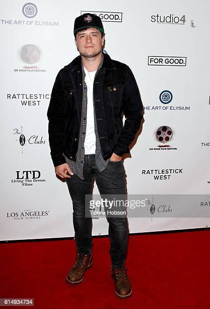 Josh Hutcherson attends the 2016 120 Hour Film Festival at Los Angeles Film School on October 15 2016 in Los Angeles California