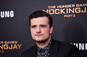 Josh Hutcherson attends 'The Hunger Games Mockingjay Part 2' premiere at AMC Loews Lincoln Square 13 theater on November 18 2015 in New York City