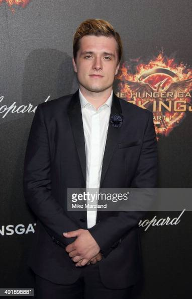 Josh Hutcherson attends the 'The Hunger Games Mockingjay Part 1' party at the 67th Annual Cannes Film Festival on May 17 2014 in Cannes France