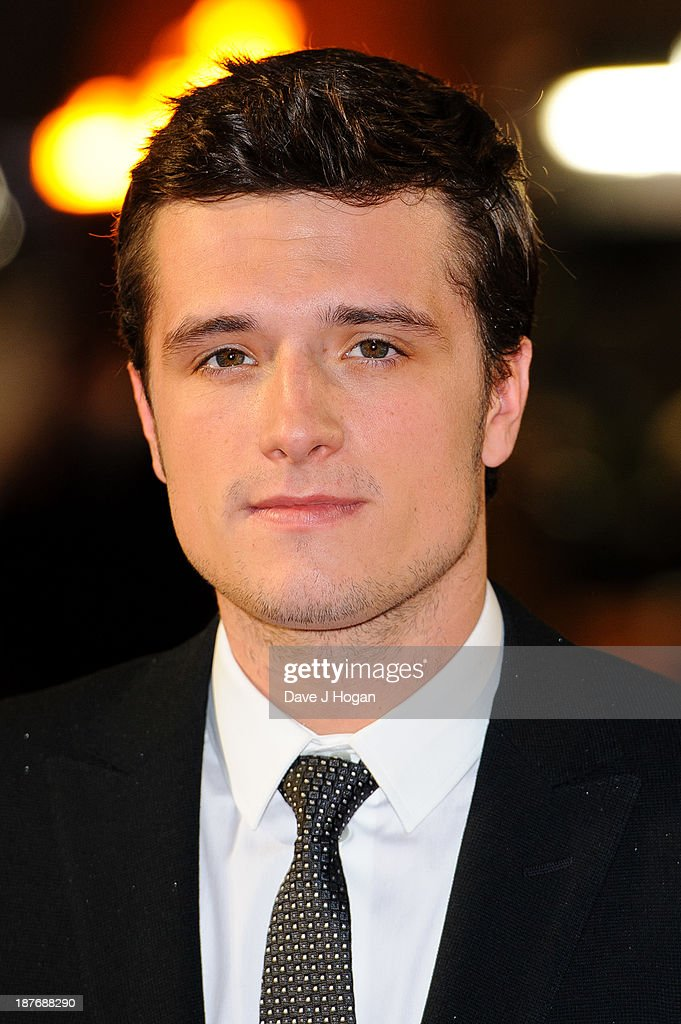 Josh Hutcherson attends the UK Premiere of 'The Hunger Games: Catching Fire' at Odeon Leicester Square on November 11, 2013 in London, England.