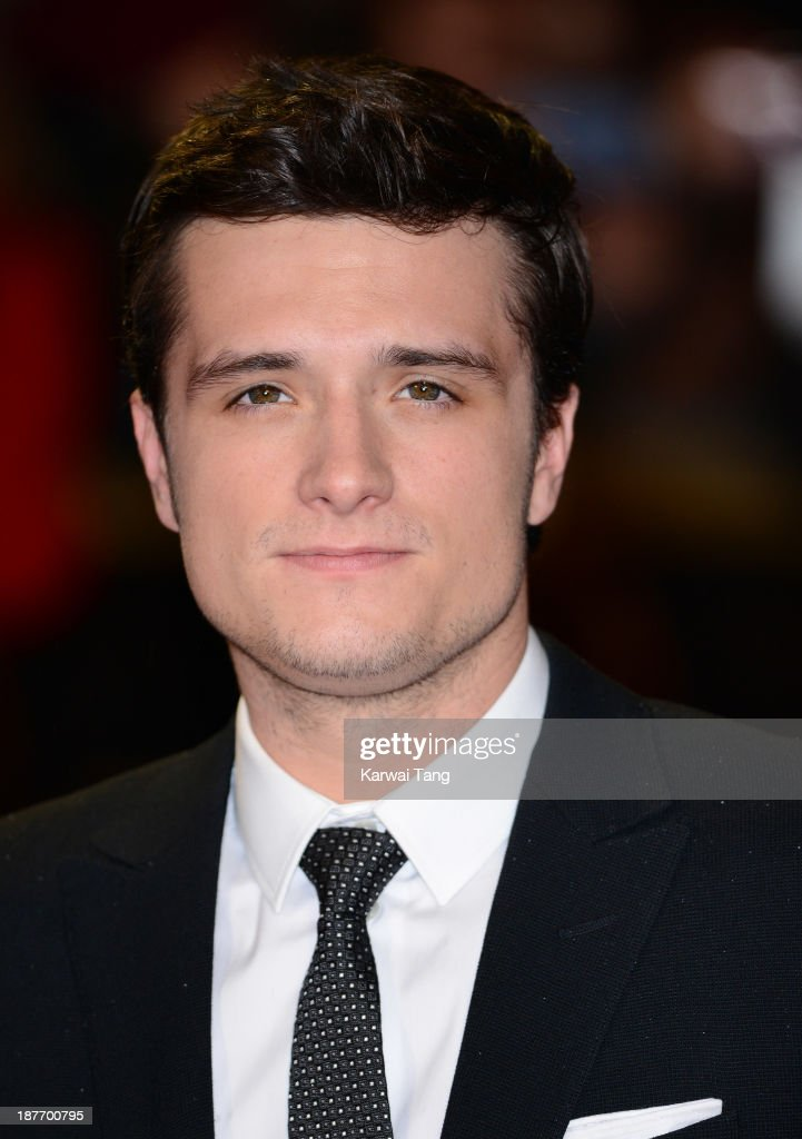 <a gi-track='captionPersonalityLinkClicked' href=/galleries/search?phrase=Josh+Hutcherson&family=editorial&specificpeople=673588 ng-click='$event.stopPropagation()'>Josh Hutcherson</a> attends the UK Premiere of 'The Hunger Games: Catching Fire' at Odeon Leicester Square on November 11, 2013 in London, England.