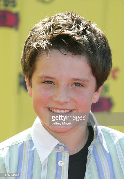 Josh Hutcherson during 2005 Teen Choice Awards Arrivals at Gibson Amphitheatre in Universal City California United States