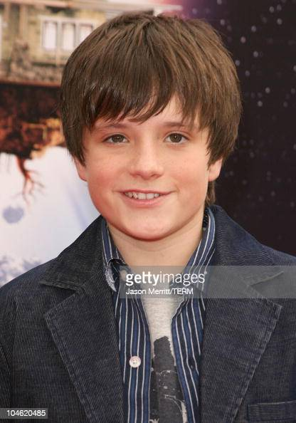 Josh Hutcherson during 'Zathura' Los Angeles Premiere Arrivals at Mann's Village Theatre in Westwood California United States