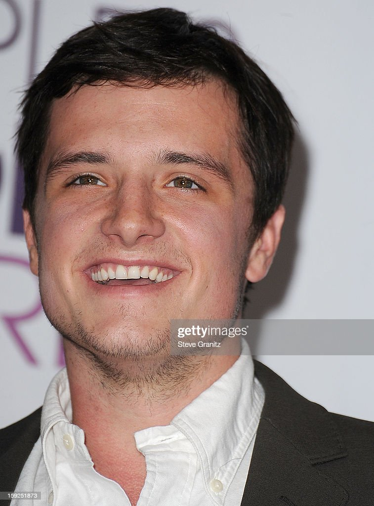 Josh Hutcherson poses at the 2013 People's Choice Awards at Nokia Theatre L.A. Live on January 9, 2013 in Los Angeles, California.