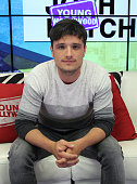 Josh Hutcherson visits Young Hollywood Studio on June 22 2015 in Los Angeles California