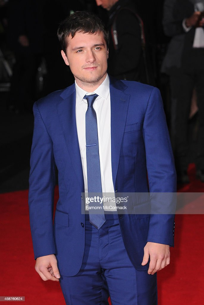 Josh Hutherson attends the World Premiere of 'The Hunger Games Mockingjay Part 1' at Odeon Leicester Square on November 10 2014 in London England