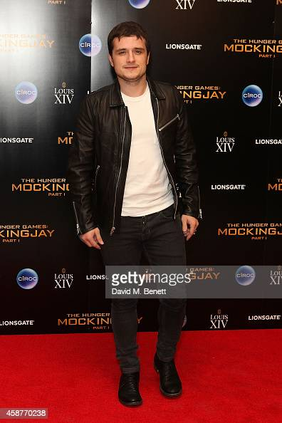Josh Huthersonattends an after party following the World Premiere of 'The Hunger Games Mockingjay Part 1' at Victoria House on November 10 2014 in...
