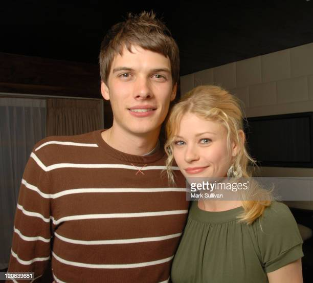 Josh Janowicz and Emilie de Ravin during One Management Launch Party at Hollywood Roosevelt Hotel in Hollywood California United States