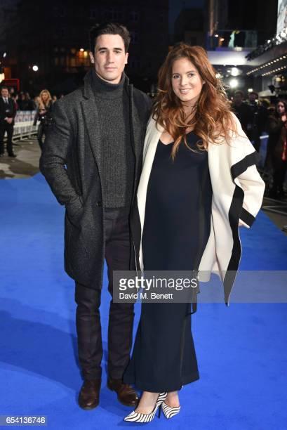 Josh 'JP' Paterson and Binky Felstead attend the World Premiere of 'Another Mother's Son' on March 16 2017 in London England