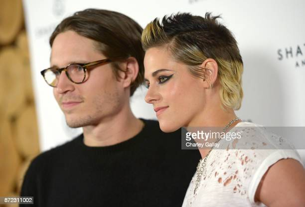 Josh Kaye and Kristen Stewart at Refinery29's Shatterbox Anthology Premiere Of Kristen Stewart's 'COME SWIM' on November 9 2017 in Los Angeles...