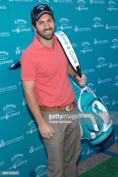 Josh Kelley attends Callaway Golf Foundation Challenge Benefitting Entertainment Industry Foundation Cancer Research Programs at Riviera Country Club...