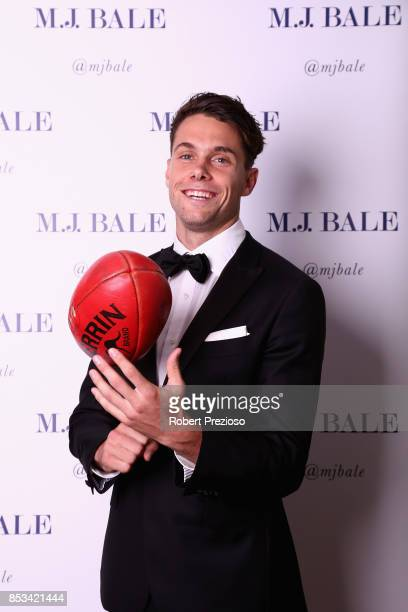 Josh Kelly attends the MJ Bale Brownlow Downlow at Crown Metropole Southbank on September 25 2017 in Melbourne Australia
