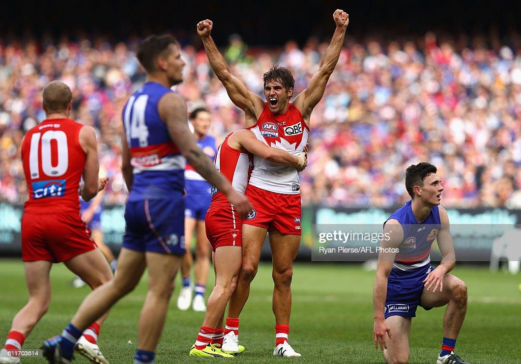 AFL Grand Final - Sydney v Western Bulldogs