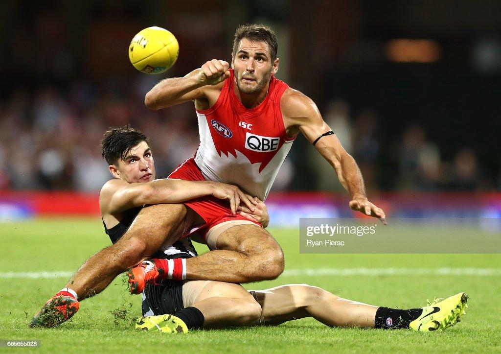 AFL Rd 3 - Sydney v Collingwood