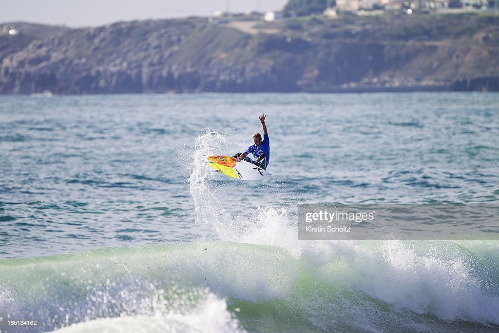 Josh Kerr of Australia placed equal third on October 17, 2013 in Peniche, Portugal.